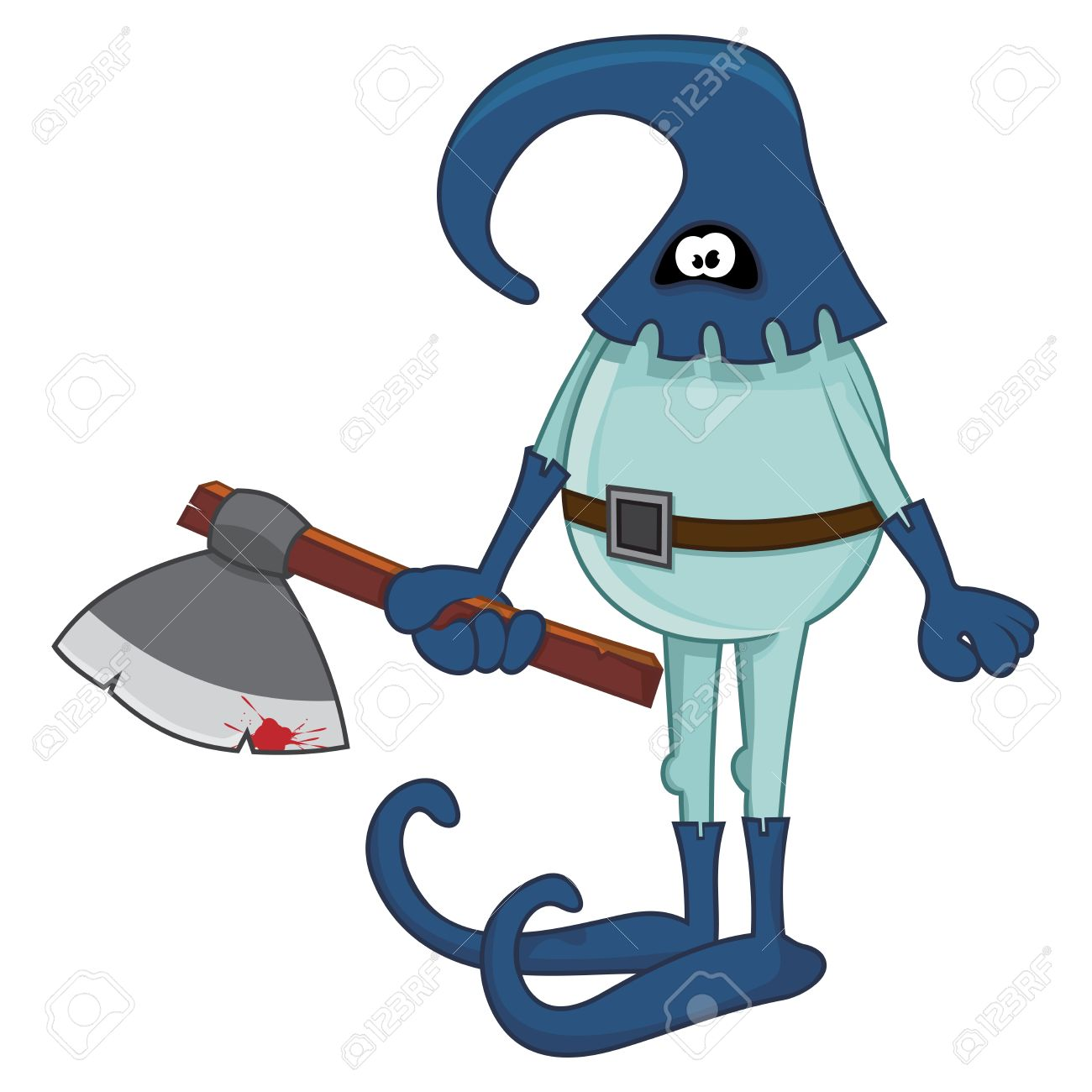 The Executioner With Axe Royalty Free Cliparts, Vectors, And Stock.