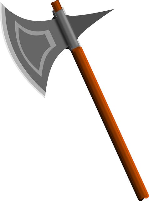 Free photo Axe Weapon Battle Axe Medieval Executioner's Axe.