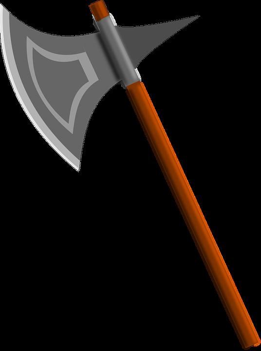 Free vector graphic: Battle Axe, Axe, Weapon.