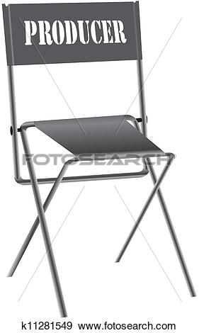 Stock Illustration of Producer of the chair k11281549.
