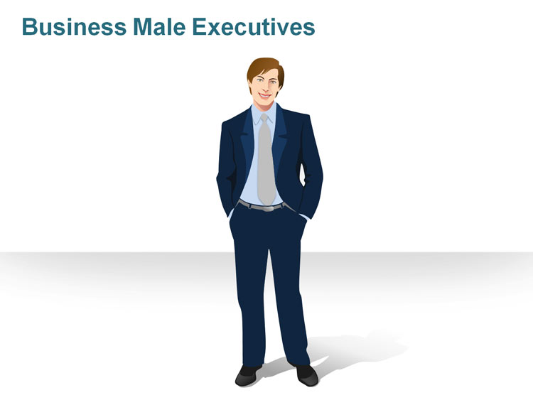 Male Executive Clipart.