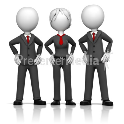 Three Business Executives.