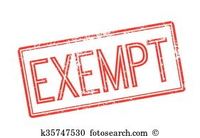Exemption Clipart Illustrations. 117 exemption clip art vector EPS.