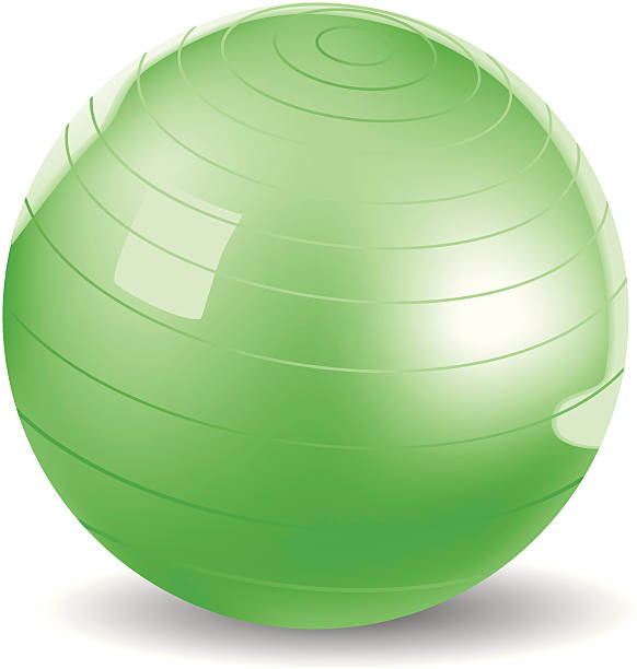 Exercise Ball Clipart.