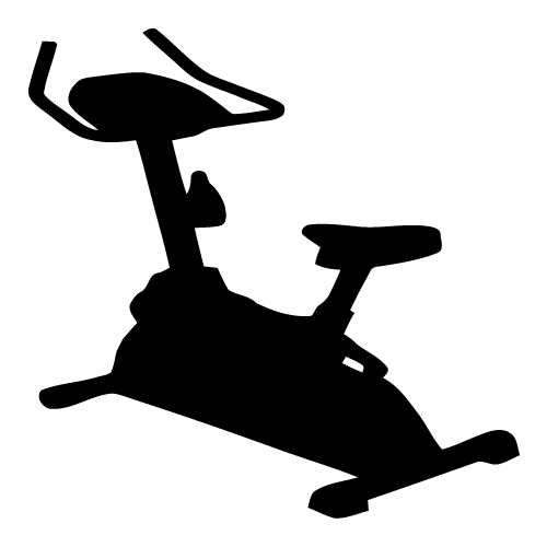 Exercise Bike Clip Art.