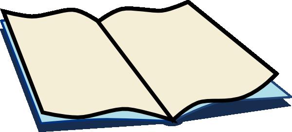 Book clipart cartoon.