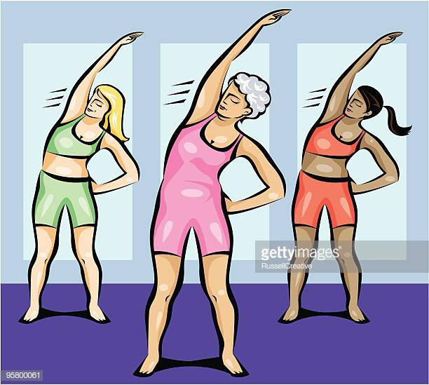 60 Top Exercise Class Stock Illustrations, Clip art, Cartoons.