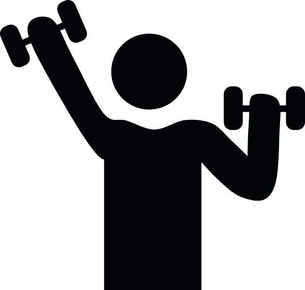 Cartoon Exercise Clipart And No Fitness.