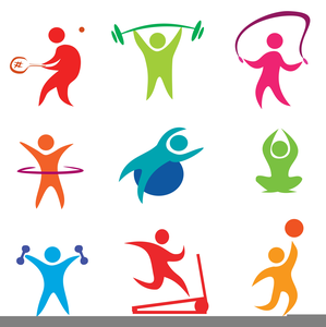 Free Clipart Of Exercise.