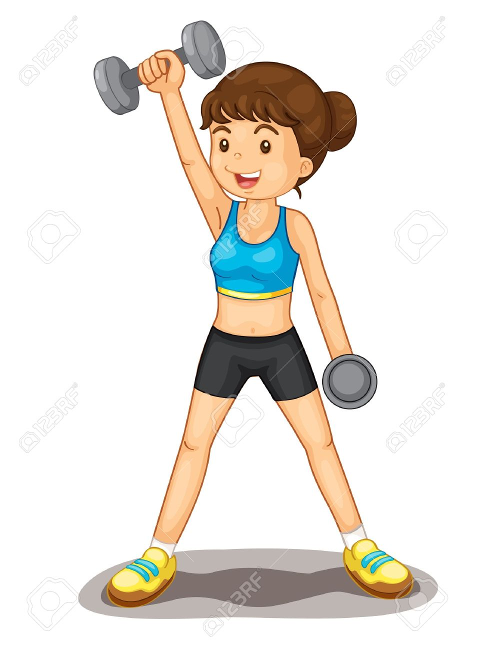 Exercise Clip Art Images.