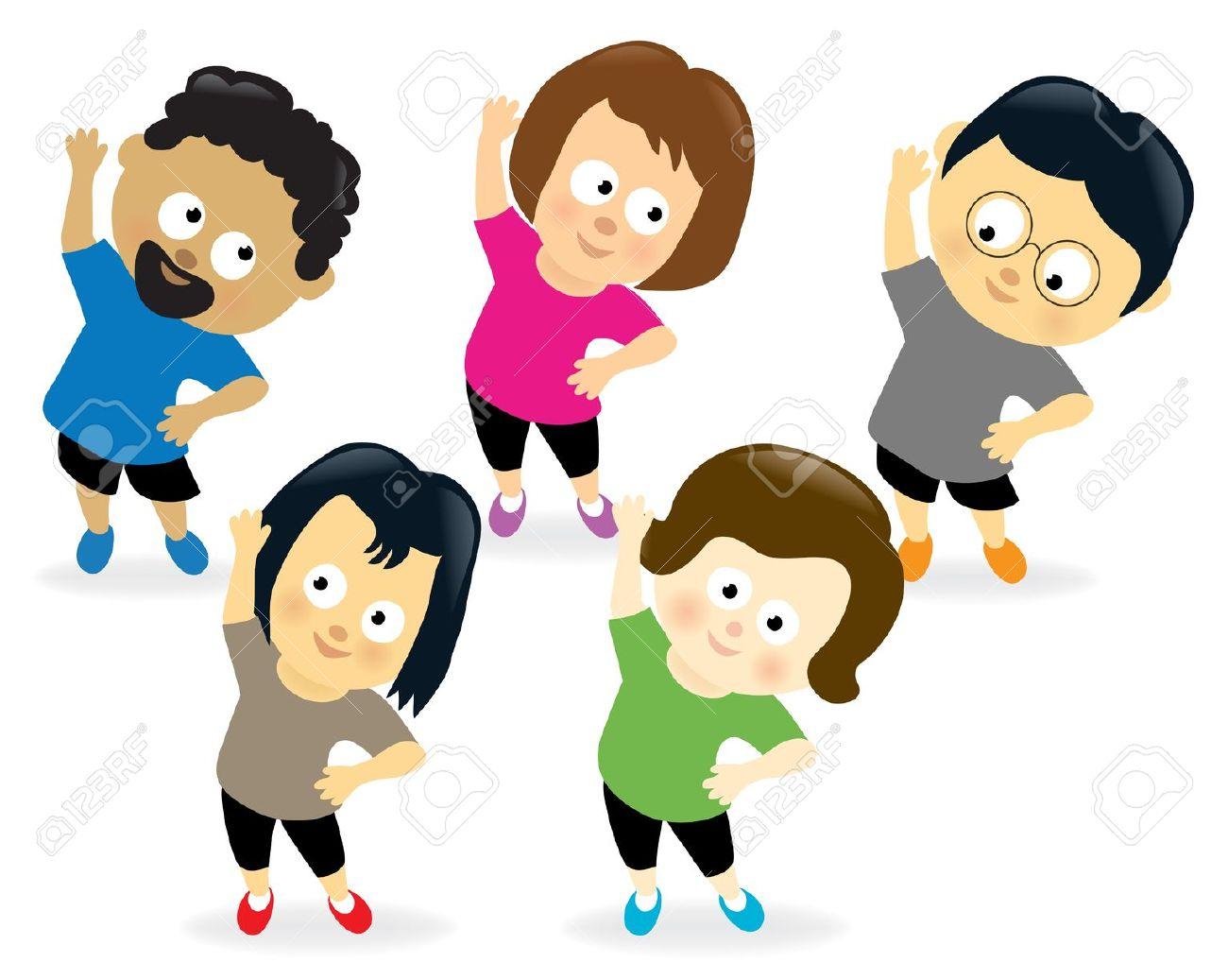 Exercise Clip Art Images.