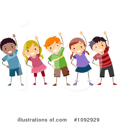 Group Exercise Clipart.