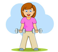 Exercises Clip Art.
