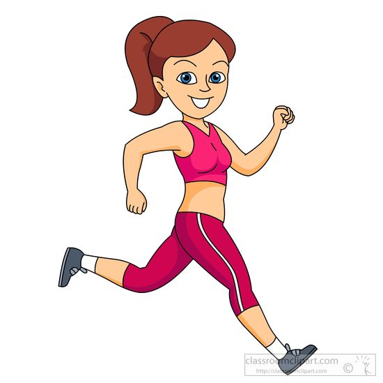 Free exercising clip art.