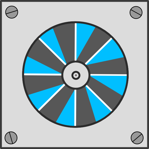 Exhaust fan clipart.