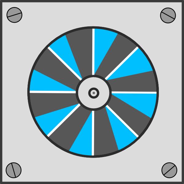 Exhaust fan clipart.