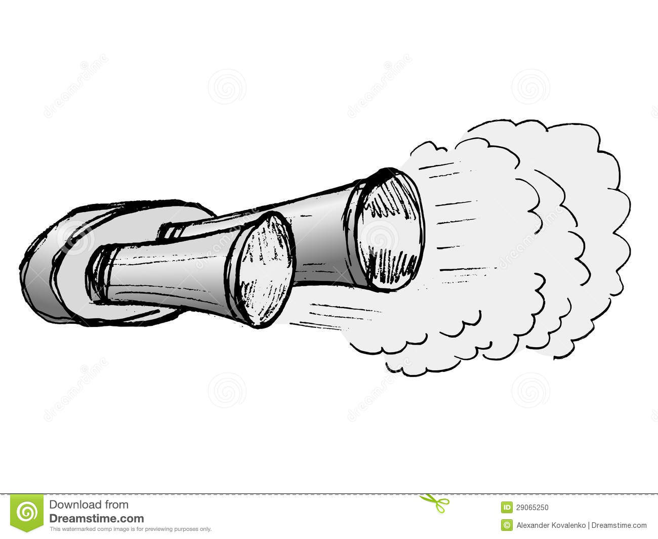 Exhaust pipe clipart.