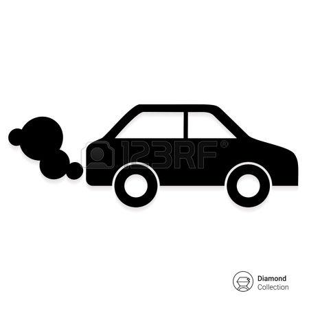 Car fumes clipart.