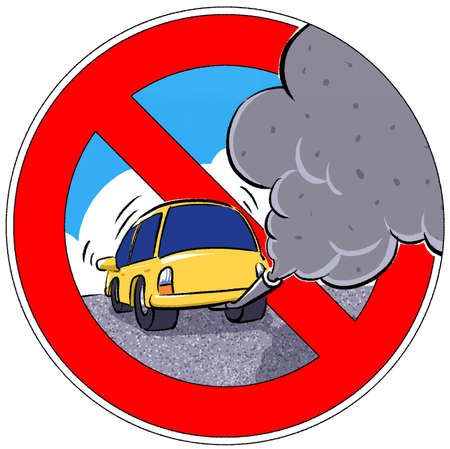 Smoke From Car Clipart.