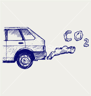 Machine exhaust gases vector by kreatiw.