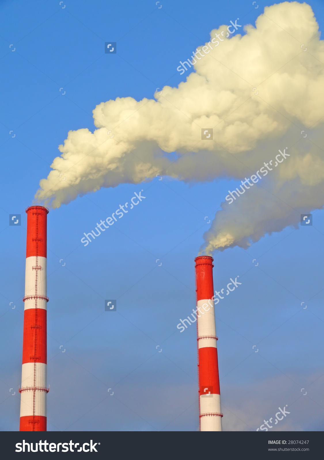 Exhaust Gas Emissions. Pollution Of The Atmosphere. To See Similar.