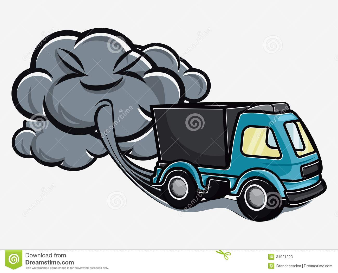 Exhaust Smoke Clipart.