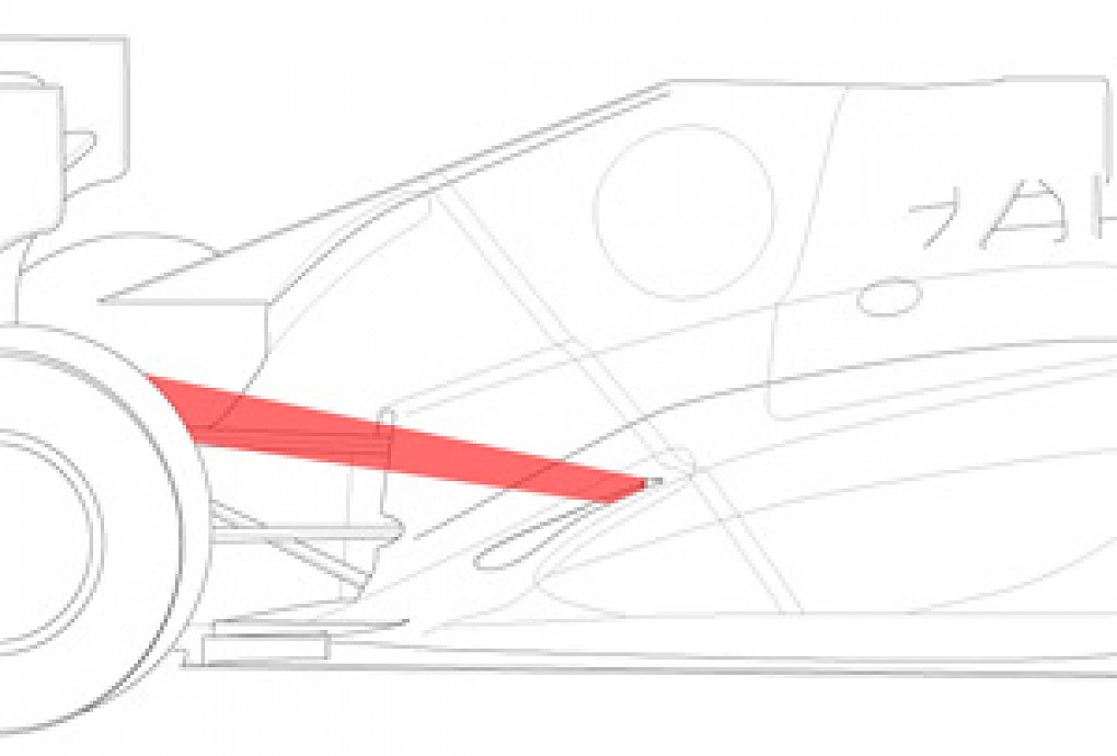 Tech Notes: Why sidepods are the new secret to speed.
