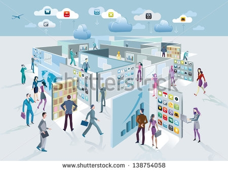 Business exhibition clipart.
