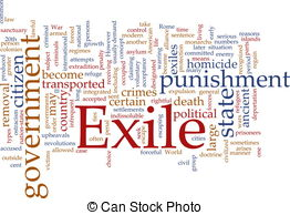 Exile clipart.
