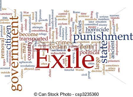 Exile Clip Art.
