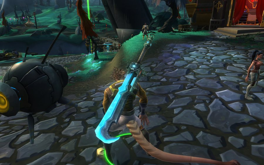 Greatsword of the Cursed : WildStar items at Jabbithole, the.