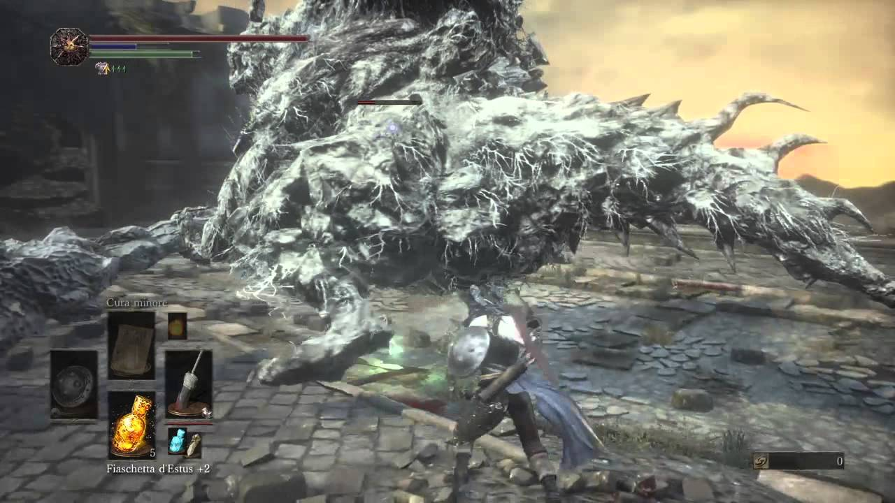 Dark souls 3 exile greatsword vs demon.