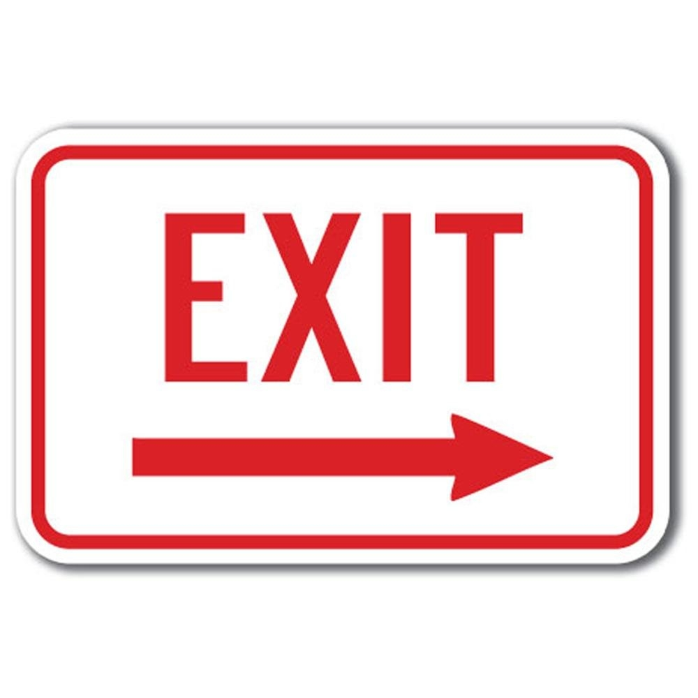 Highway Exit Sign Clip Art.