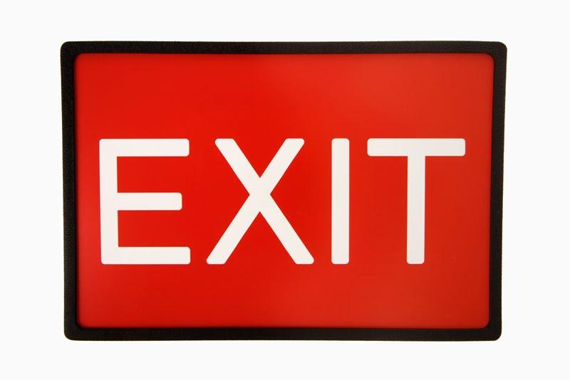 Enter exit clipart.