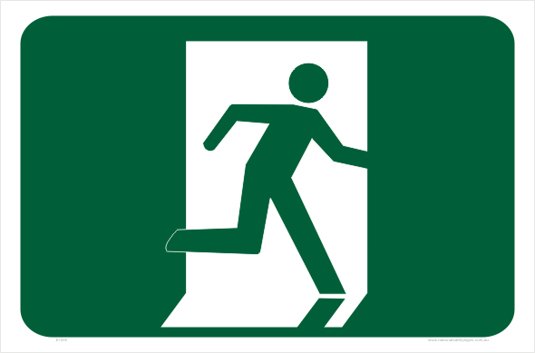Emergency Exit signs E1265.