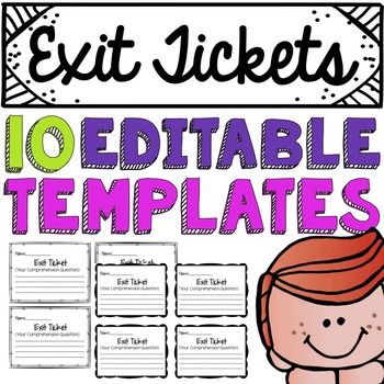Exit Ticket Template Worksheets & Teaching Resources.