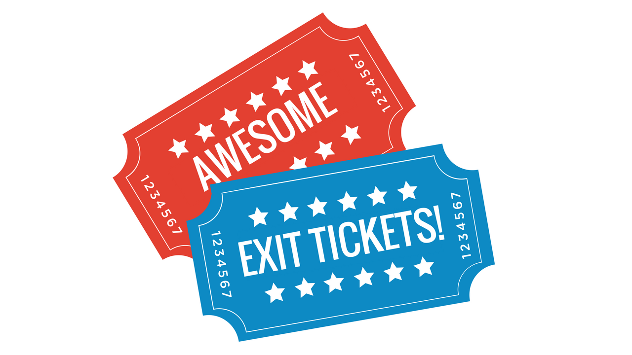Make Awesome Exit Tickets with Digital Breakouts.