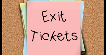 Eight Reasons to use Exit Tickets in your Classroom.