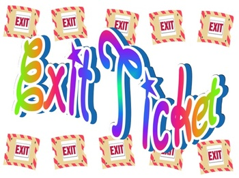 Exit ticket clipart 1 » Clipart Station.