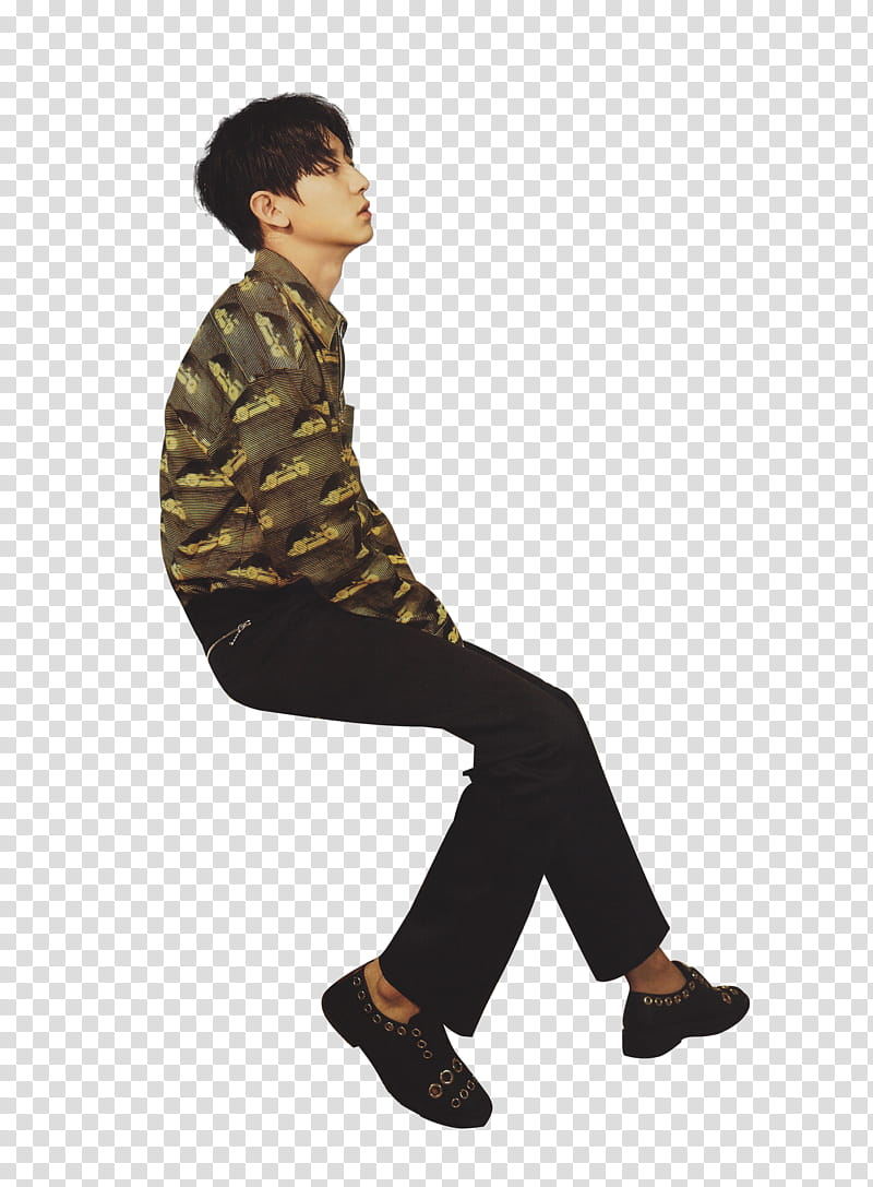 EXO Chanyeol Render transparent background PNG clipart.