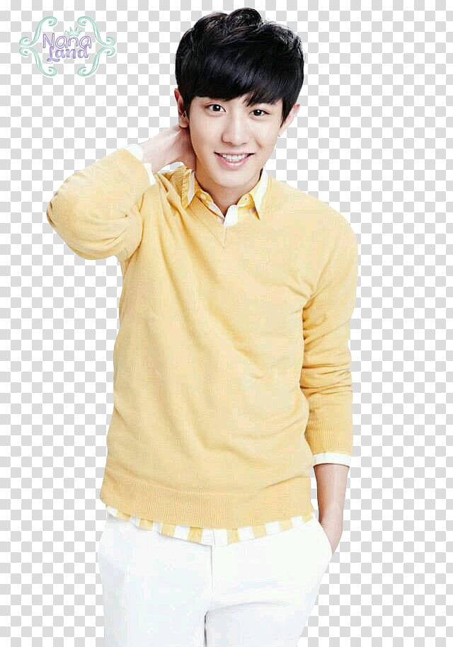 EXO CHANYEOL transparent background PNG clipart.