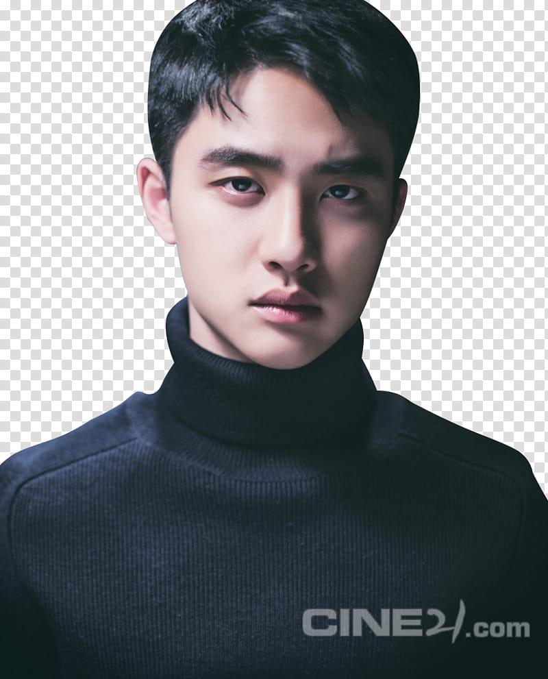 EXO KYUNGSOO , Do Kyung Soo transparent background PNG.