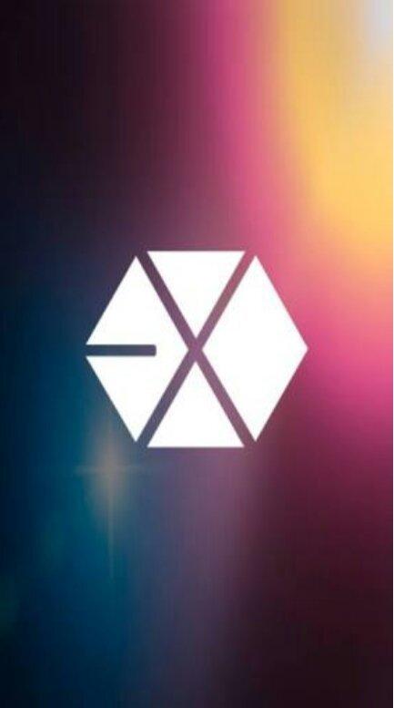EXO logo wallpaper.