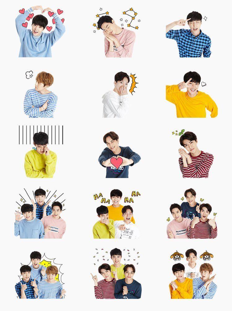 exo stickers.