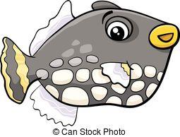 Clip Art Exotic Fish Clipart.