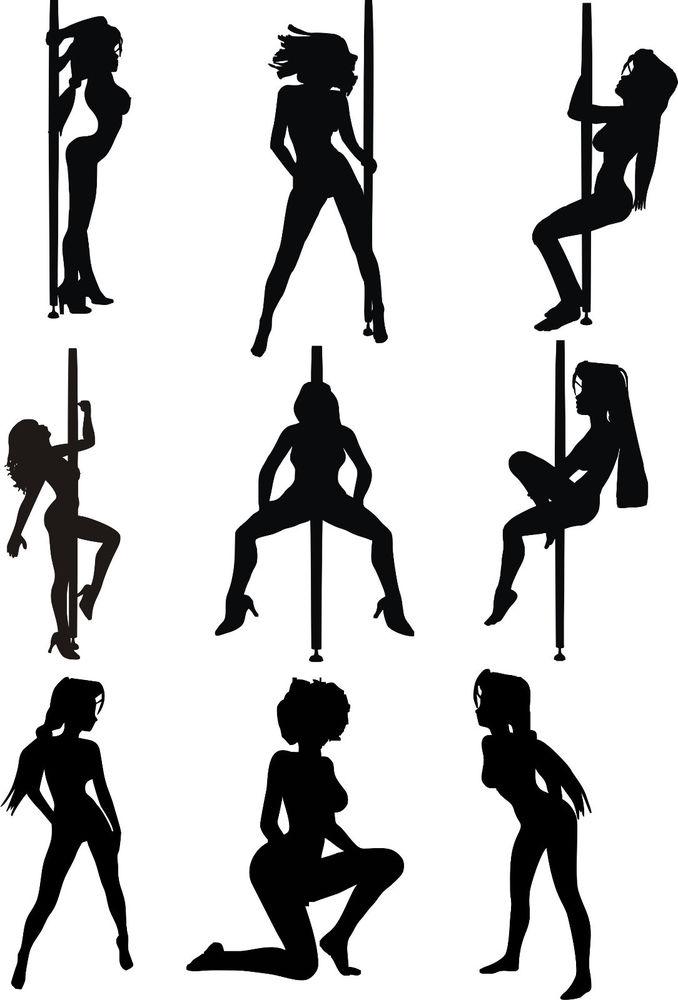 Exotic dancer clipart.