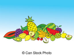 Tropical fruits Stock Illustrations. 25,558 Tropical fruits clip.