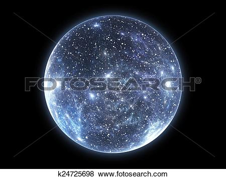 Stock Illustration of The Big Bang and the Expansion of the.