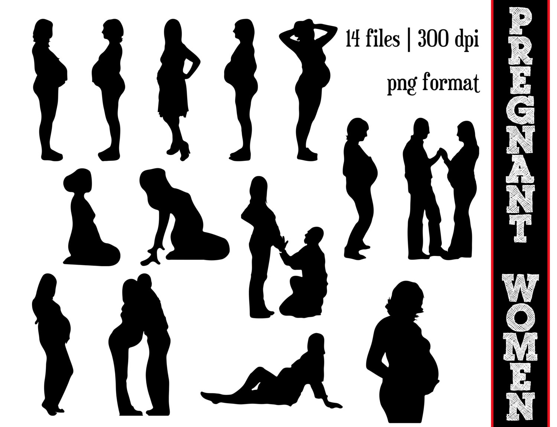 Pregnant clip art.
