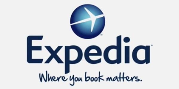 New Expedia branding.